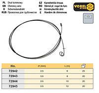 проволока чистки дымоходов Ø= 3,5 мм l= 10 м VOREL-72944