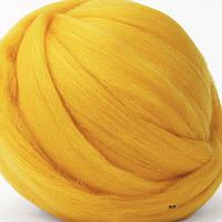 Шерсть для валяния австралийский меринос 18 мкм желток натуральная шерсть для сухого валяния, мокрого валяния)