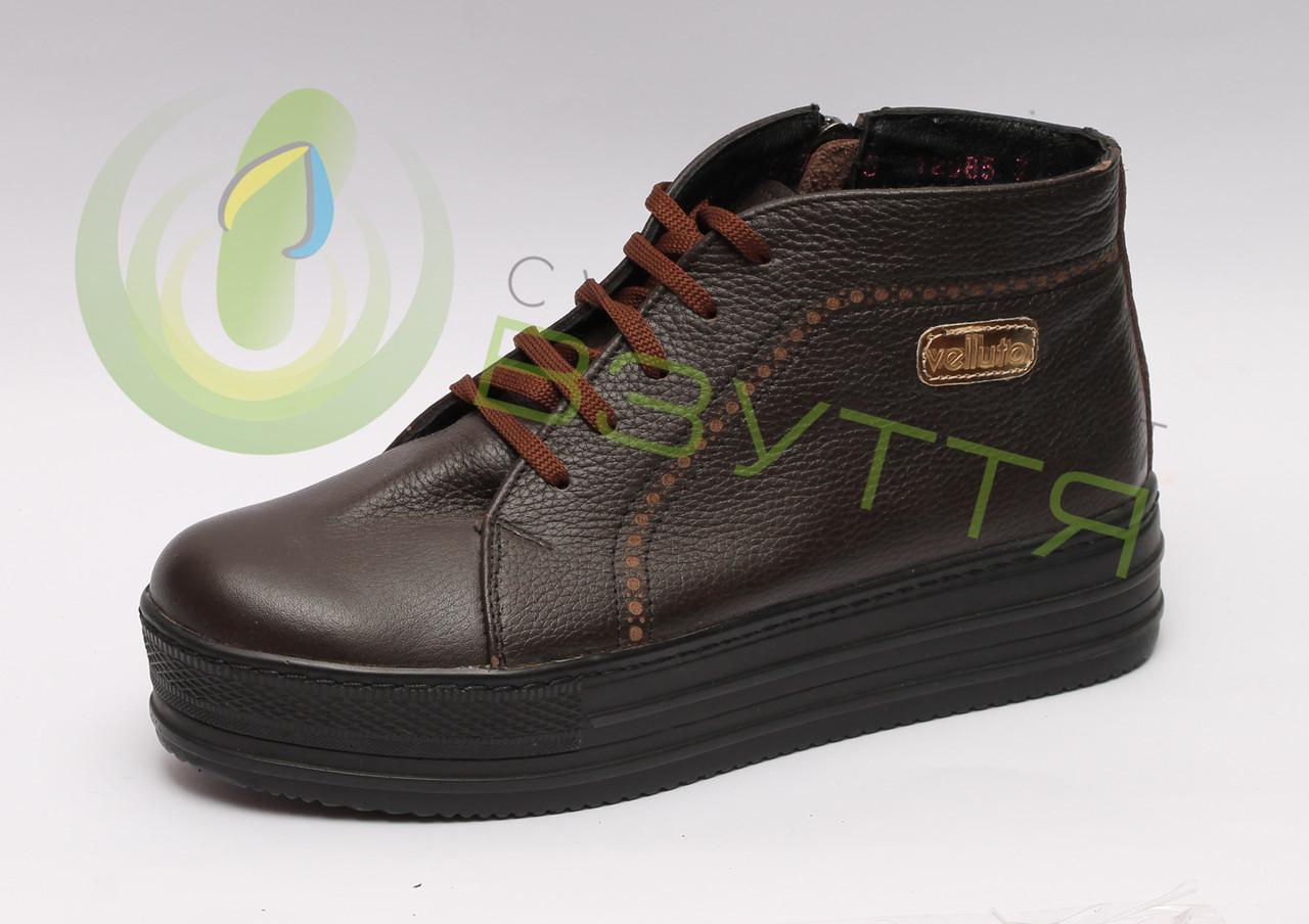 Шкіряні жіночі черевики Maximoda 38 розмір