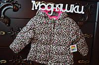 Яркая и красивая детская курточка, 24 мес