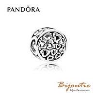 Pandora Шарм ЧУВСТВО ЛЮБВИ #791980 серебро 925 Пандора оригинал