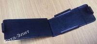Чехол-книжка для Samsung N7000 Galaxy Note (кожаный) чёрный