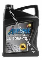 Масло моторное 10W-40 LL API SJ/CF-4 (A3/B4-04/E2-96) 5 л. ALPINE, Днепр