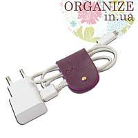 Зажим для кабелей и наушников Gato Negro (фиолетовый)