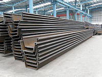 Шпунт U профиля  производства Jiangsu Shunli Steel Group