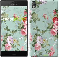 "Чехол на Sony Xperia Z3 D6603 Цветочные обои 2 ""862c-58"""
