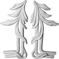Декор интерьера: лепной орнамент - сецессия. Уголки для рамок - гіпсові кутики. Ліпнина з гіпсу
