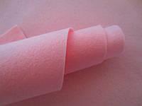 Фетр корейский мягкий, 1.2 мм, 20x30 см, РОЗОВЫЙ, фото 1