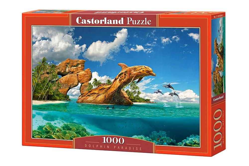 """Пазлы Castorland C-103508 """"Дельфиний рай"""" на 1000 элементов (C-103508)"""