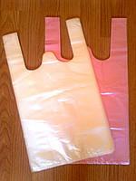 Фасовочные пакеты-майка  24х42 см/ 8 мкм купить оптом