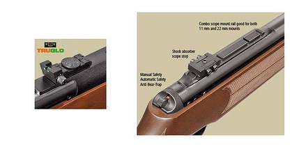 Пневматическое оружие. Пневматическая винтовка Hatsan 135, класса Magnum. Однозарядная винтовка, фото 3