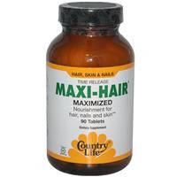Maxi-Hair,витамины для роста волос,90 таблеток