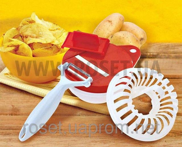 Набор для приготовления чипсов в микроволновке - Хрусик! от Bradex