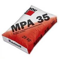 Цементно-известковая штукатурка MPA-35 для наружных работ, 25 кг