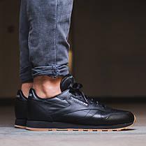Кроссовки REEBOK Classic Black Leather 49800 (Оригинал) - купить в ... 55c327585c2