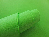 Фетр корейский мягкий, 1.2 мм, 20x30 см, САЛАТОВЫЙ, фото 1