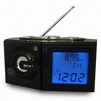 Часы настольные электронные BCT-786 + FM радио