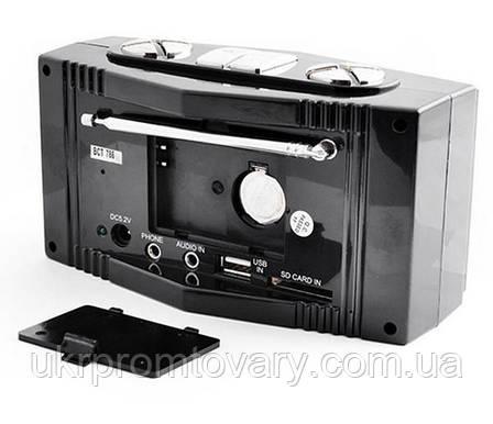 Часы настольные электронные BCT-786 + FM радио, фото 2