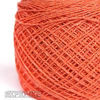 Пряжа хлопок Ярослав цвет №234 морковь