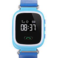 Синие Q60 Оригинал! Детские умные часы телефон, gps слежение, Smart baby watch gps