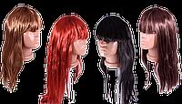 Женский парик с челкой