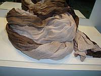Женский шарф переходами