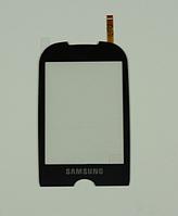 Оригинальный тачскрин / сенсор (сенсорное стекло) для Samsung Corby S3650 | S3653 (черный цвет)
