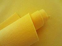 Фетр корейский мягкий, 1.2 мм, 20x30 см, ЖЕЛТЫЙ, фото 1