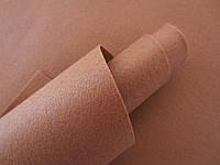 Фетр корейский мягкий, 1.2 мм, 20x30 см, СВЕТЛО-КОРИЧНЕВЫЙ