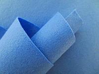 Фетр корейский мягкий, 1.2 мм, 20x30 см, НЕБЕСНО-ГОЛУБОЙ