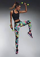Разноцветные штаны с манжетами для фитнеса Glade Bas Bleu (Бас Блю)