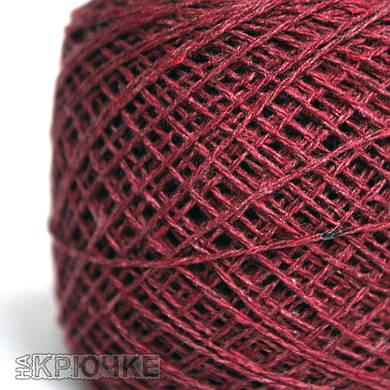 Пряжа для вязания крючком Ярослав цвет №12 вишня
