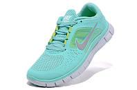 Женские кроссовки Nike Free Run 5.0 бирюзовые, фото 1