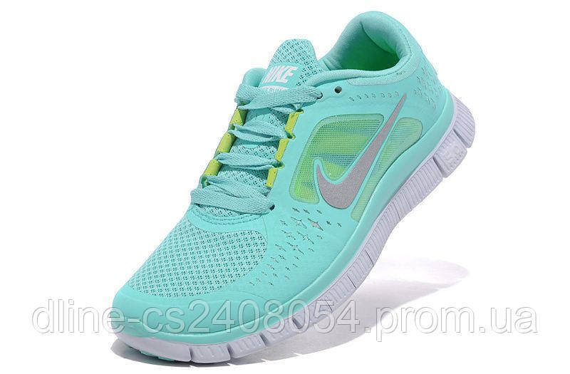 bf57e33f Женские кроссовки Nike Free Run 5.0 бирюзовые купить - в обувном ...