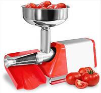 Электрическая бытовая соковыжималка для томатов NEW OMRA Spremy 850M Италия, фото 1