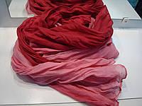 Женский шарф розово бордовый