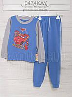Пижама на мальчика 104см,  хлопок-интерлок, 2203ино. В наличии 98,104,110  Рост