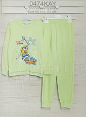 Пижама на мальчика на 3 или 2-4года, хлопок-интерлок 2203ино , в наличии 98,104,110  Рост, фото 3