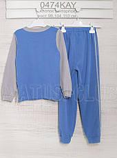 Пижамы детские 98см,  хлопок-интерлок, 2203ино. В наличии 98,104,110  Рост, фото 2