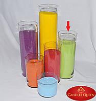 Ваза - подсвечник ваза для цветов h 315 мм d 120 мм