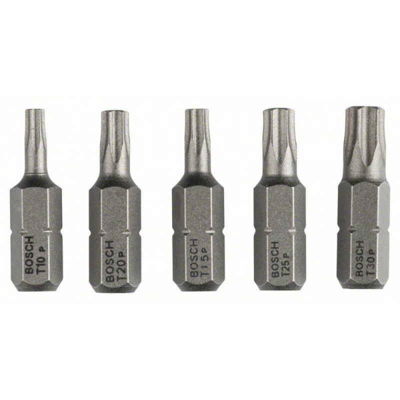 Биты Bosch TORX10/15/20/25/30 25 мм 5 шт XH, 2607001768