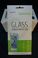 Защитное стекло для Huawei Honor V8  закаленное 0.3 mm 2.5D 9H