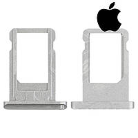 Держатель SIM-карты для Apple iPad 5 Air, оригинал (серебристый)