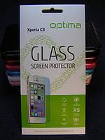 Защитное стекло для Sony Xperia C3 DS D2502 закаленное 0.3 mm 2.5D 9H