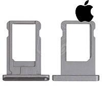 Держатель SIM-карты для Apple iPad Mini 2 Retina, оригинал (черный)