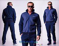 Мужской спортивный костюм синий, фото 1