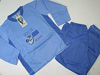 Пижама трикотажная с начёсом для мальчиков, размеры 134-164, арт. 645
