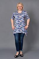 Женские туники, блузы батал