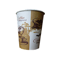 Бумажные стаканчики (с рисунком) 250 мл, 50 шт.