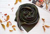 Молодежный шарф цвета хаки